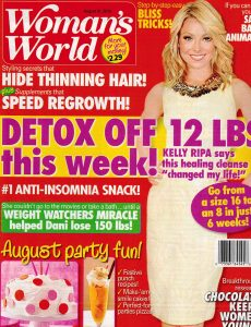 Cover of Woman's World magazine